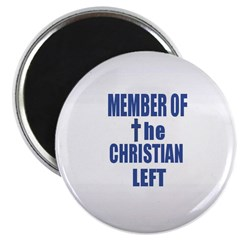 Member of the Christian Left Magnet