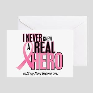 Never Knew A Hero 2 (Nana) Greeting Card