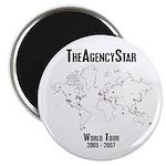 TheAgencyStar World Tour Magnet