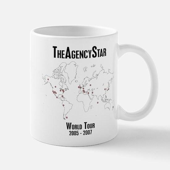 TheAgencyStar World Tour Mug