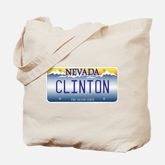 Nevada Supports Clinton Tote Bag