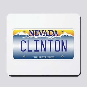 Nevada Supports Clinton Mousepad