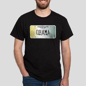Mississippi Supports Obama Dark T-Shirt