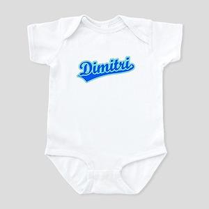 Retro Dimitri (Blue) Infant Bodysuit