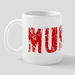Mumbai Faded (Red) Mug