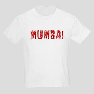 Mumbai Faded (Red) Kids Light T-Shirt