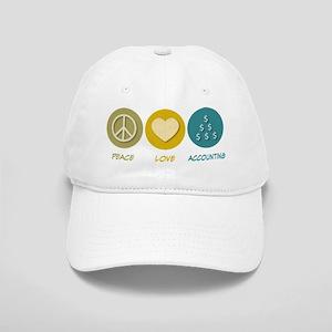 Peace Love Accounting Cap