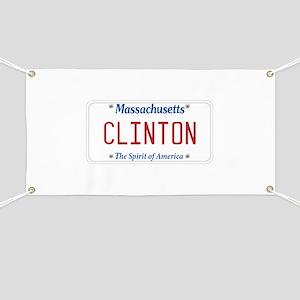 Massachusetts Supports Clinton Banner