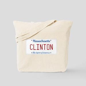 Massachusetts Supports Clinton Tote Bag