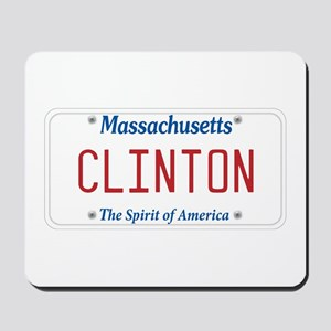 Massachusetts Supports Clinton Mousepad