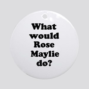 Rose Maylie Ornament (Round)