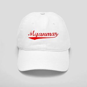 Vintage Myanmar (Red) Cap