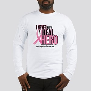 Never Knew A Hero 2 (Wife) Long Sleeve T-Shirt