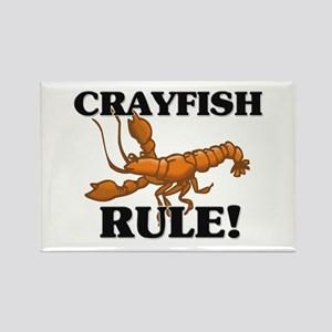 Crayfish Rule! Rectangle Magnet