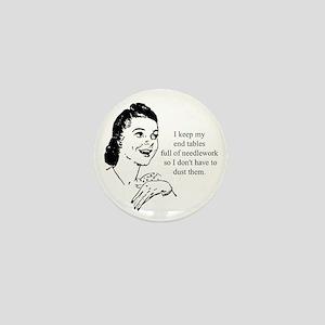Needlework - Don't have to Du Mini Button