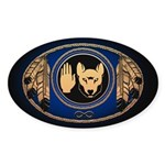 First Nations Metis Stickers 50 pk Wolf Stickers