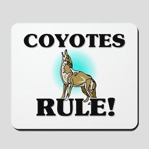Coyotes Rule! Mousepad