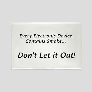 "Electronic Smoke ""Saying"" Rectangle Magnet"