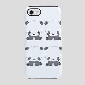 Panda Bear Peace Harmony and iPhone 8/7 Tough Case