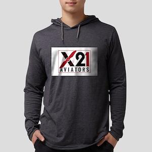 X21 Aviators Logo Long Sleeve T-Shirt