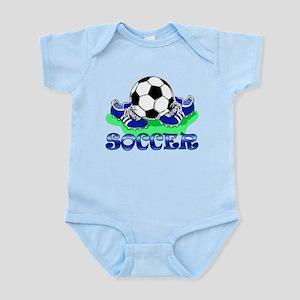 Soccer (Blue) Infant Bodysuit