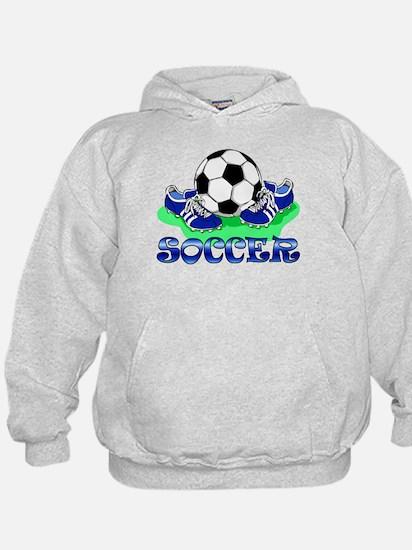 Soccer (Blue) Hoodie