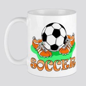Soccer (Orange) Mug
