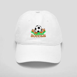 Soccer (Orange) Cap