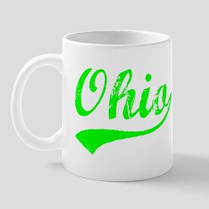 Vintage Ohio (Green) Mug
