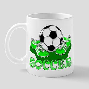 Soccer (Green) Mug
