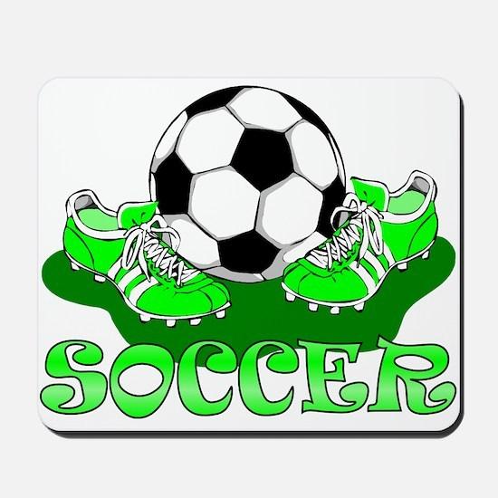Soccer (Green) Mousepad