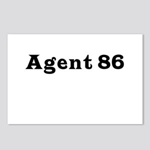 Agent 86 Postcards (Package of 8)