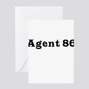 Agent 86 Greeting Card