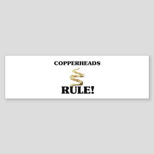 Copperheads Rule! Bumper Sticker