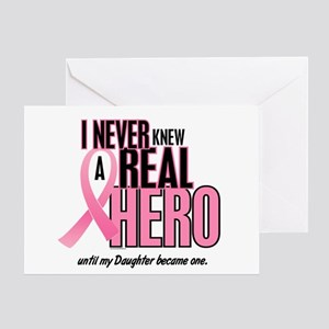 Never Knew A Hero 2 (Daughter) Greeting Card