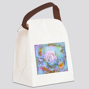 The Mystical shell art work by Mi Canvas Lunch Bag
