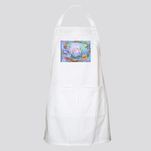 The Mystical shell art work by Millie Light Apron