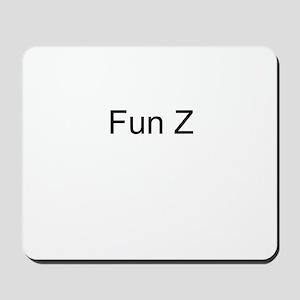 Fun Z Mousepad