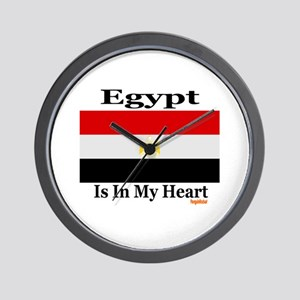 Egypt - Heart Wall Clock