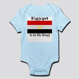 Egypt - Heart Infant Bodysuit