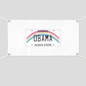 Hawaii Supports Obama Banner