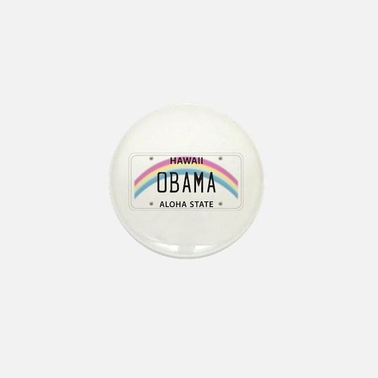 Hawaii Supports Obama Mini Button