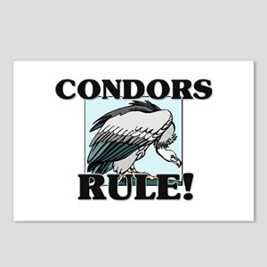 Condors Rule! Postcards (Package of 8)