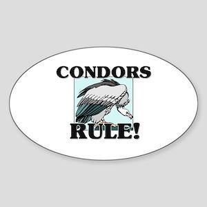 Condors Rule! Oval Sticker