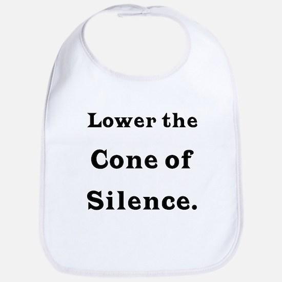 Cone of Silence Bib