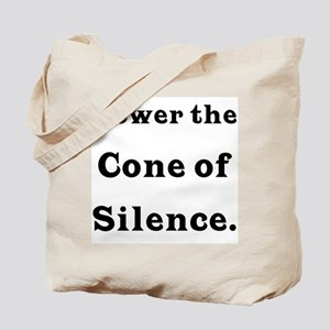 Cone of Silence Tote Bag