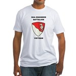 36TH ENGINEER BATTALION Fitted T-Shirt