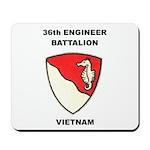 36TH ENGINEER BATTALION Mousepad