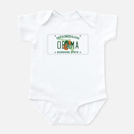 Florida Supports Obama Infant Bodysuit