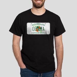 Florida Supports Obama Dark T-Shirt